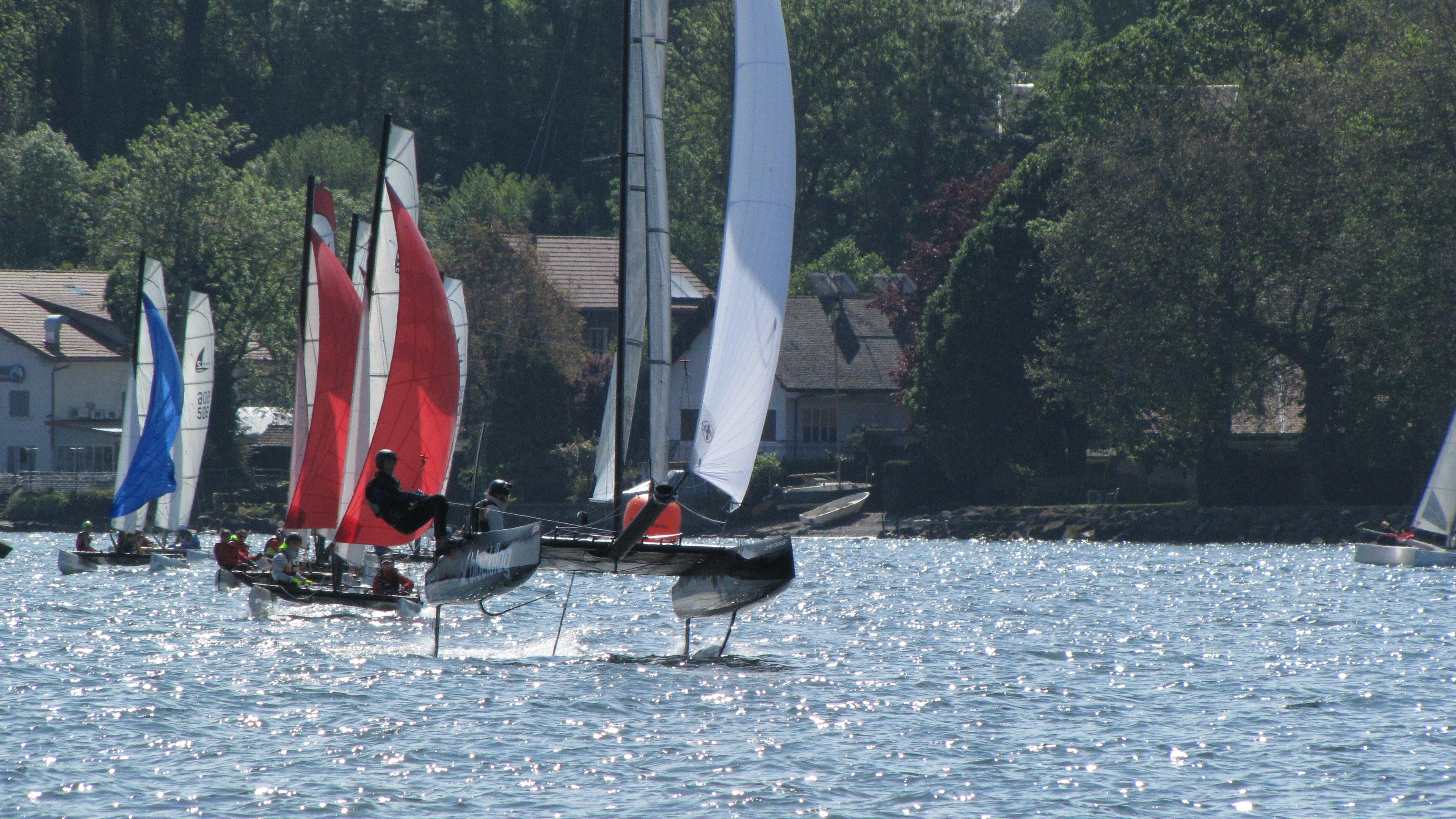 Equipe compétition catamaran _ BNS4