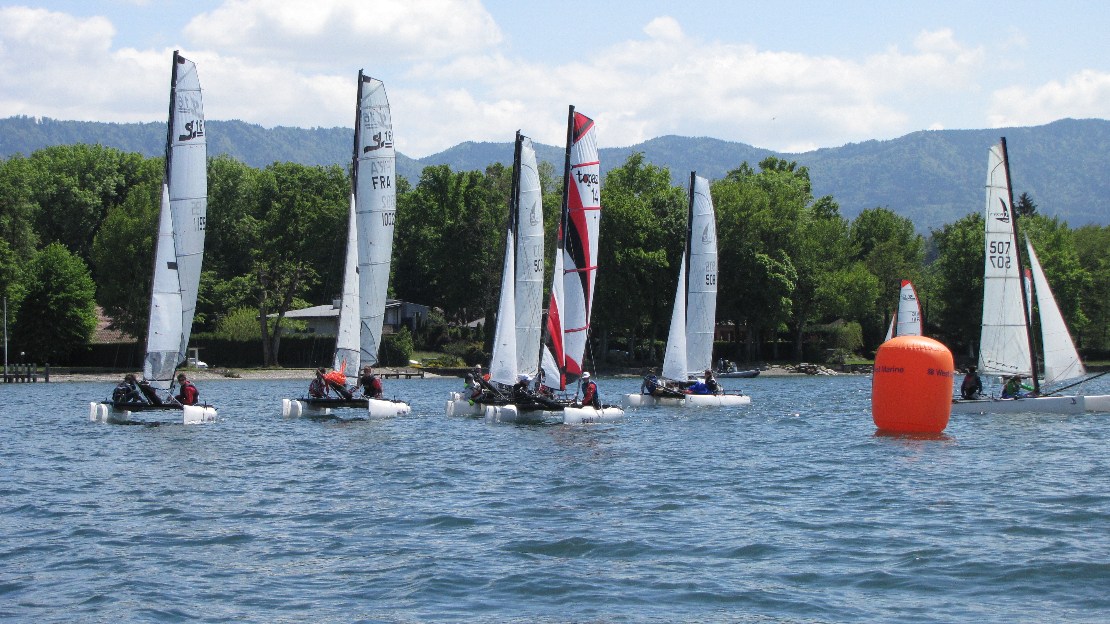 Equipe compétition catamaran _ BNS7